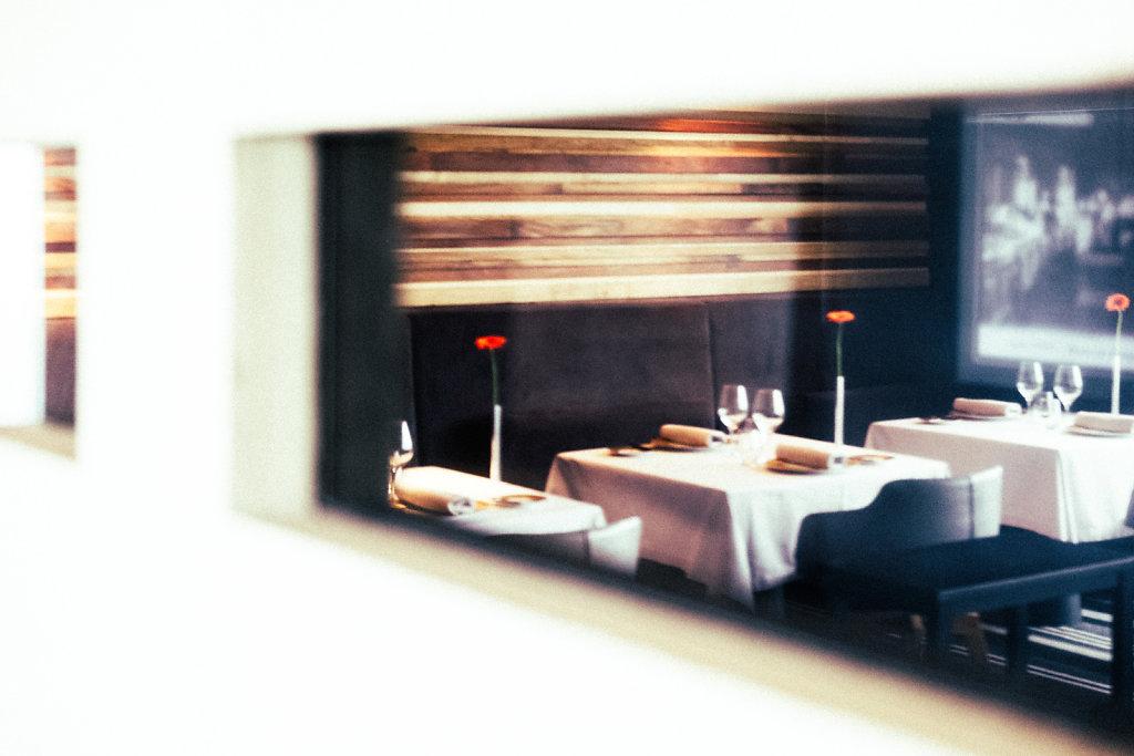 Interior of Restaurant Tetedoie